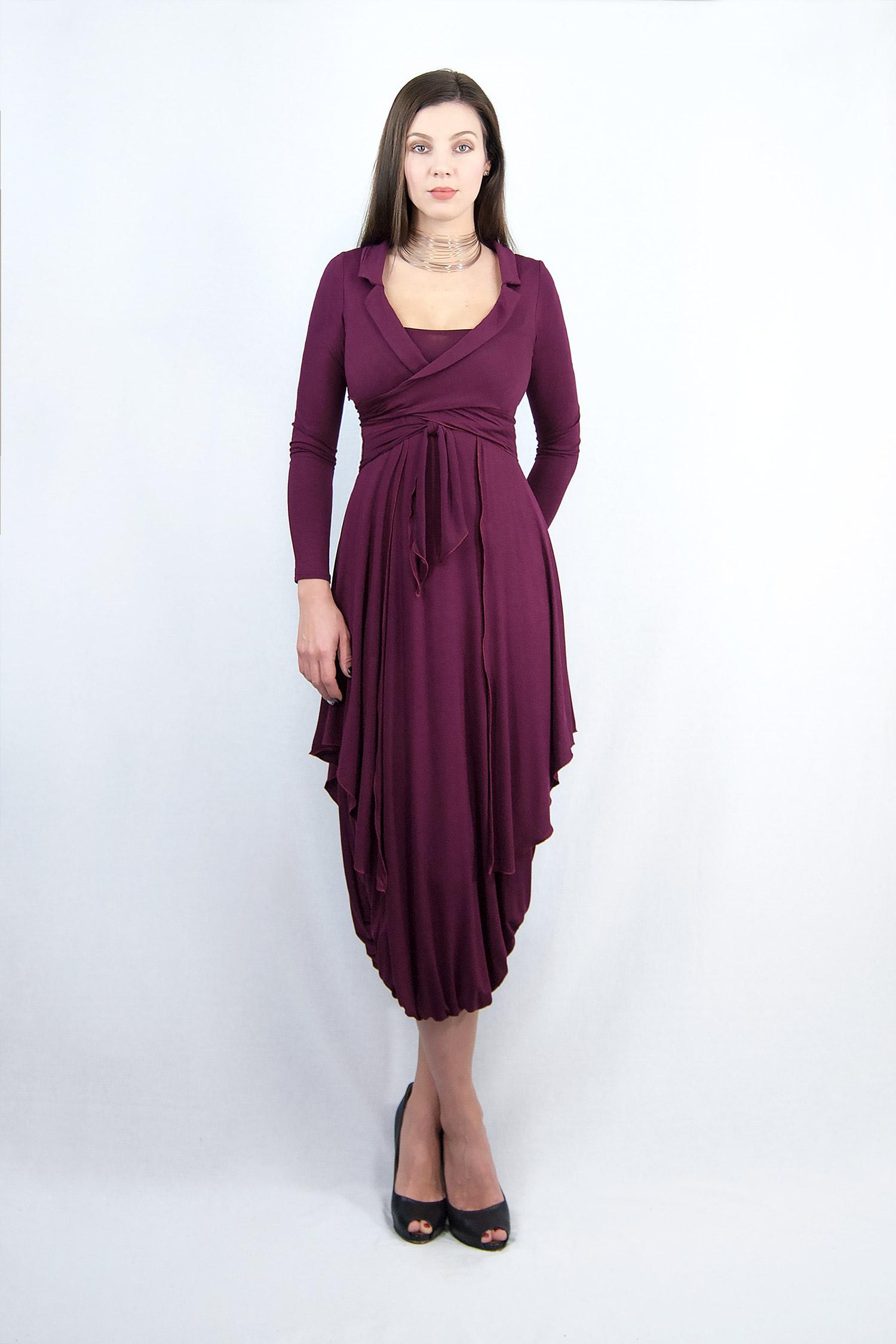 Wrap Dress - Jacket
