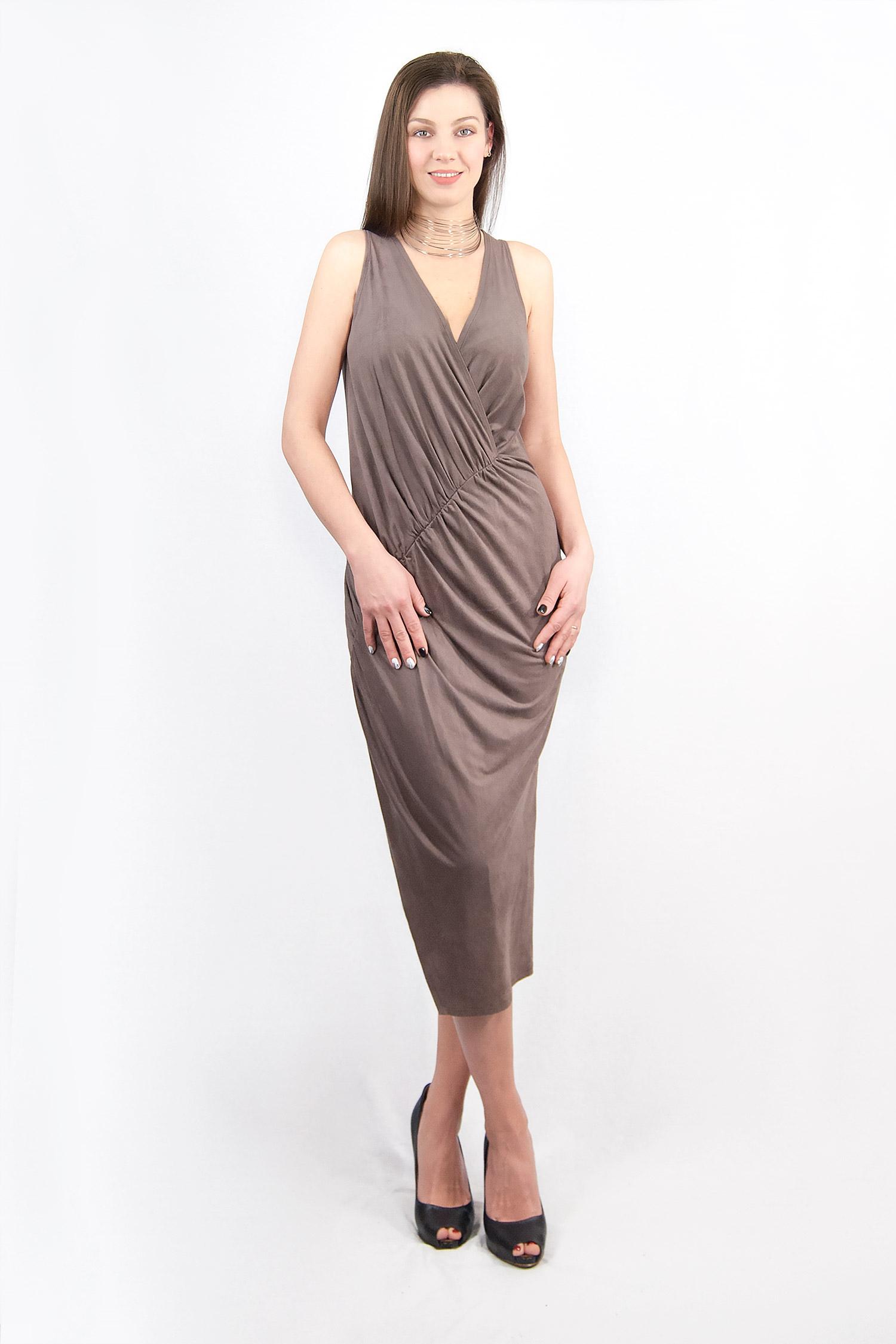 Soft drapery dress